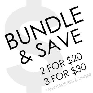 Other - BUNDLE & SAVE!  2 for $20 | 3 for $30